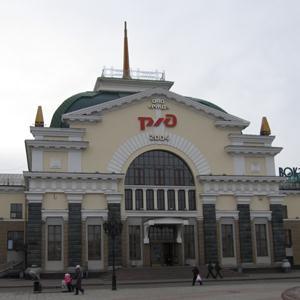 Железнодорожные вокзалы Очера